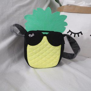 VS PINK pineapple cooler lunch bag